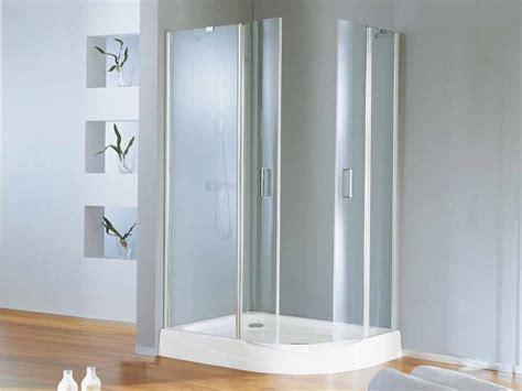 porte doccia samo box doccia angolare semicircolare con porte a battente