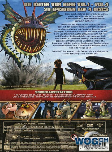 dragons die reiter berk staffel 1 box 4 dvds dvd