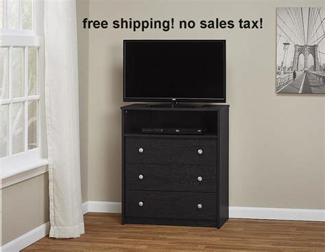 bedroom tv stand with drawers highboy tv stand storage solution bedroom furniture 3 drawer dresser chest black ebay