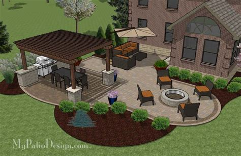 Patio Layout Ideas My Patio Design Officialkod
