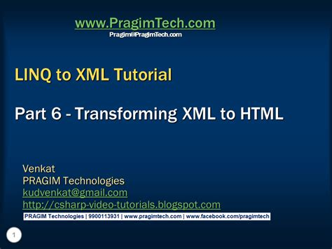 tutorial linq to xml sql server net and c video tutorial part 6
