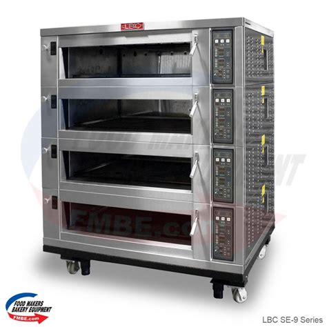 Oven Deck lbc se 9 series electric deck oven