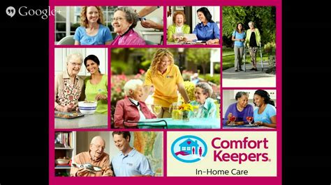 comfort keepers ohio elder care dayton oh in home elder care services youtube