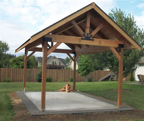 outdoor picnic pavilion plans bing images backyard