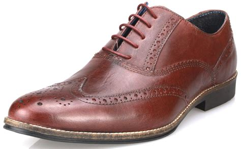 up shoes mens leather formal brogues lace up shoes in