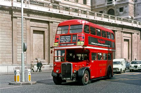RT buses recreate full Route 11   London Bus Museum