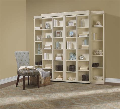 sliding bookcase murphy bed 1000 images about murphy beds on pinterest murphy bed