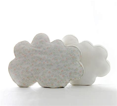 Cloud Pillows by Cloud Pillows Upcycled Fabric Design Squish