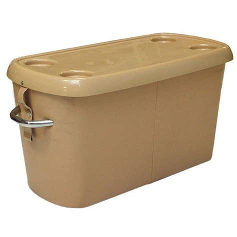 boat storage hatch sanpan beige 37 x 17 x 19 plastic pontoon boat storage