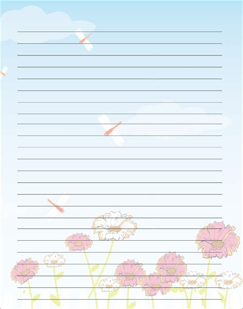 printable lined paper for mother s day free printable kids mother s day writing paper