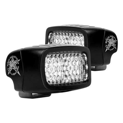 rigid industries 174 sr m series black led backup light kit