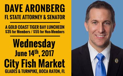 15th Judicial Circuit Palm County Search Dave Aronberg Florida State Attorney And Senator Speaks In Boca Raton Gold Coast
