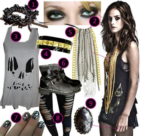 Effy Stonem Wardrobe by A Mademoiselle S World Skins Get The Look Fashion