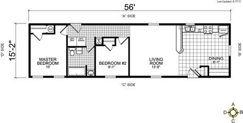 trailer floor plans single wides single wide mobile home floor plans bestofhouse net 25990