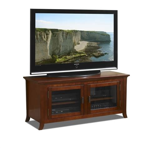 50 Inch Wide Plasma/LCD TV Stand in Walnut   PAL50