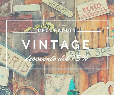 decoración del hogar productos 10 complementos vintage de decoraci 243 n para tu hogar 161 con