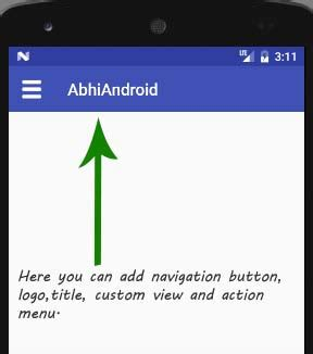 android studio toolbar tutorial toolbar tutorial with exle in android studio android