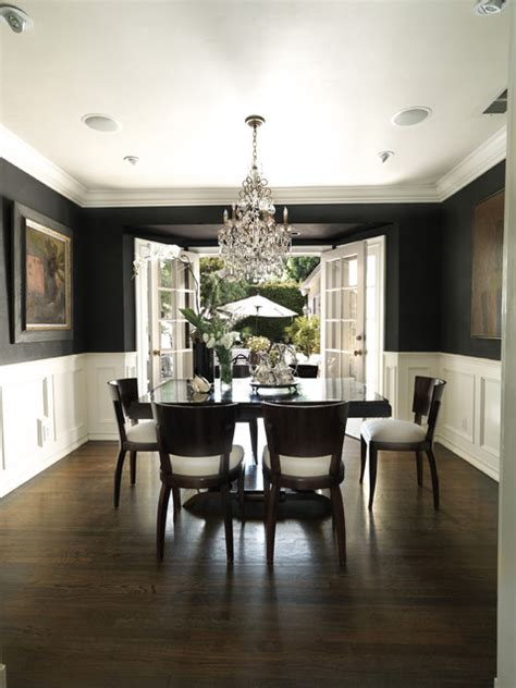 Dining Room Los Angeles by Luxe West Residence Traditional Dining Room