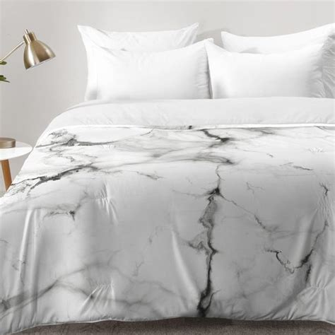 marble bed sheets buffalo marble comforter set reviews allmodern