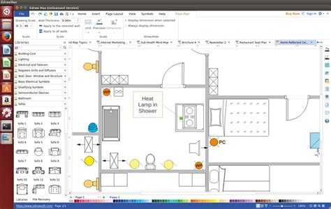 linux floor plan software best reflected ceiling plan software for linux