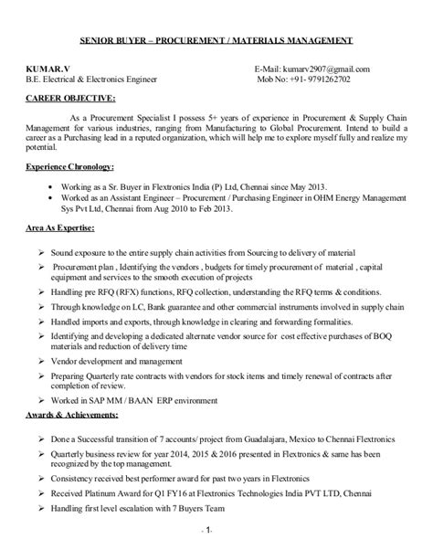 Data Scientist Resume Sle by Procurement Career Objective 28 Images Data Scientist