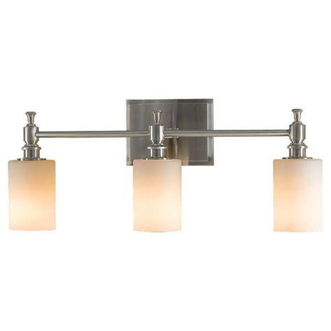 Feiss Bathroom Lighting Feiss Casual Luxury 2 Light Brushed Steel Vanity Light Vs13702 Bs The Home Depot