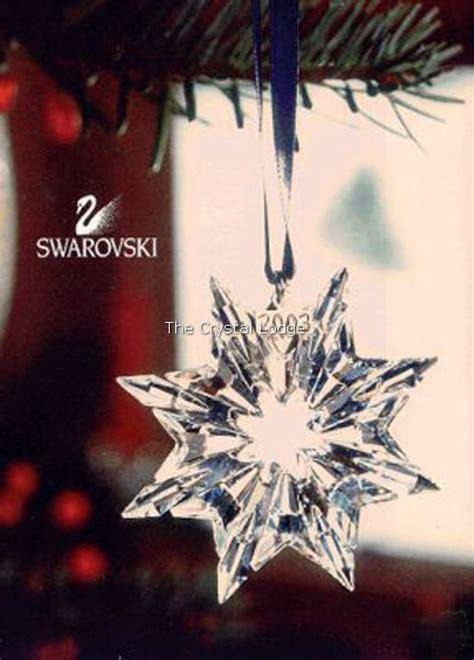 swarovski swarovski 2003 christmas ornament 622498