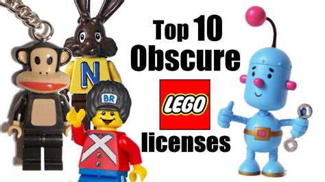 lego themes list top 10 obscure lego licensed themes youtube