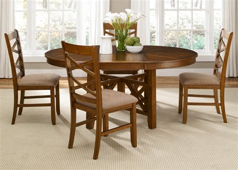 oval dining room set bistro oval pedestal dining room set from liberty 64