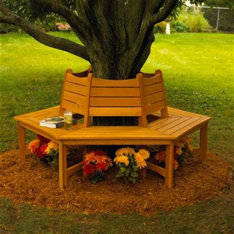 bench around tree plans to build a bench around a tree woodworking