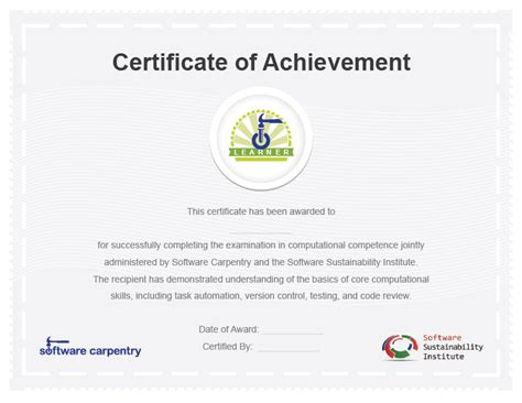 software license certificate template 28 images free