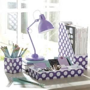 Purple Desk Accessories Preppy Paper Desk Accessories Purple From Pbteen Things I