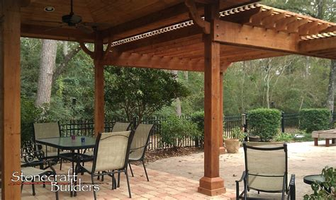 pergola builder in houston custom made pergolas by