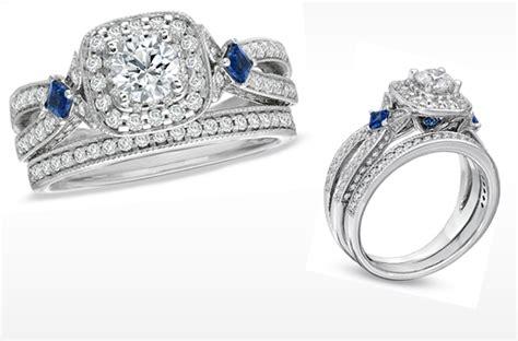 Wedding Rings Vera Wang by Vera Wang Engagement Ring And Sapphire
