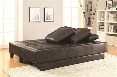 Brown Leather Ottoman Bed Brown Leather Sofa Bed And Ottoman Set A Sofa Furniture Outlet Los Angeles Ca
