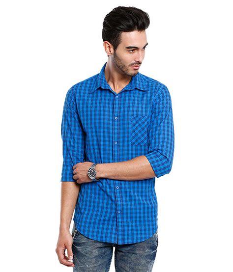 vintage blue casual shirt buy vintage blue casual shirt
