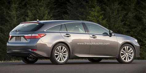 lexus wagon imagining the lexus es shooting brake lexus enthusiast