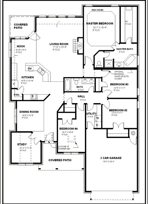 architectural floor plan architectural drawings with dimensions home deco plans