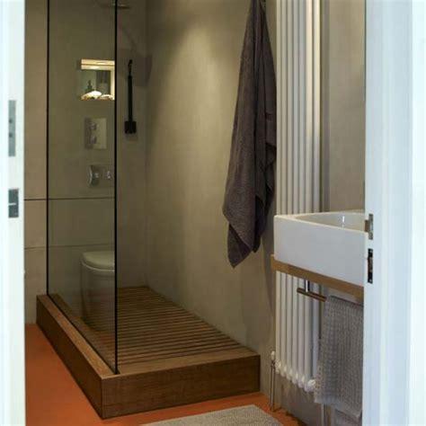 Teak Wood Shower Floor by Bathroom Shower Teak Floors
