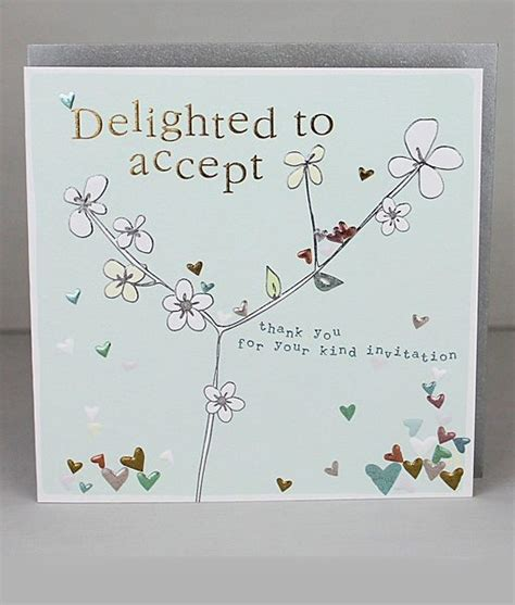 acceptance card template unique wedding acceptance cards wedding invitation ideas