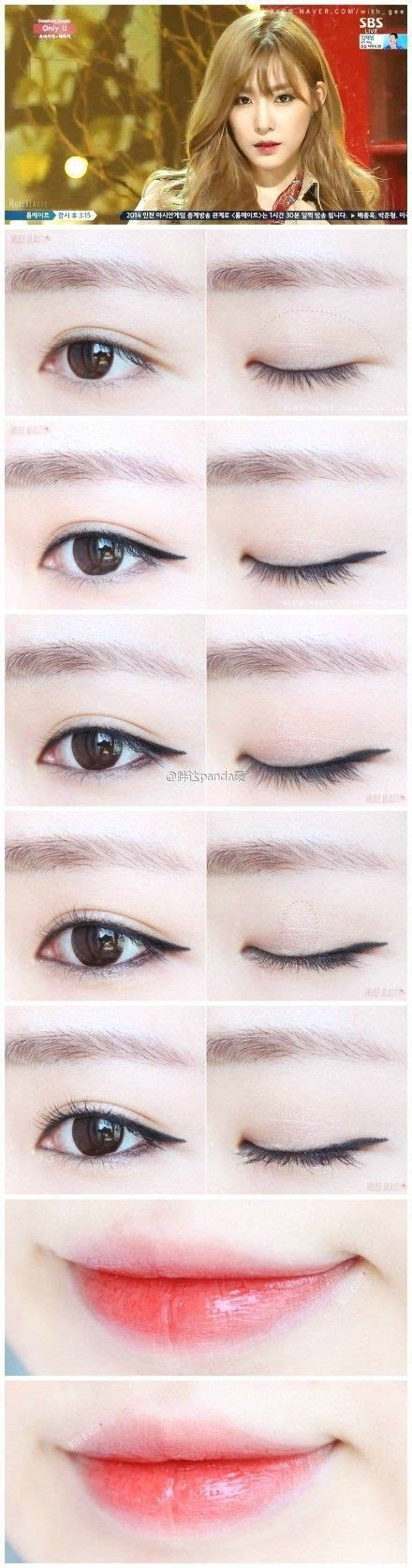 tutorial make up korea mp4 korean make up makeup pinterest makeup tutorials