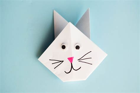 Paper Bunny Origami - easy origami rabbit all for the boys
