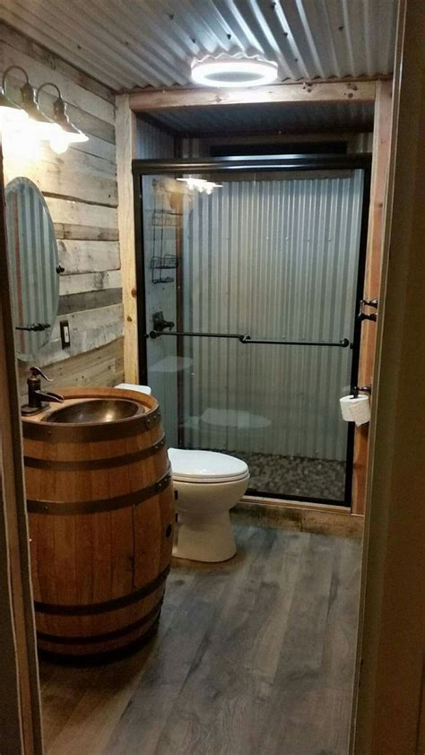 garage bathroom ideas 25 best ideas about barn tin on pinterest barnwood ideas downstairs furniture