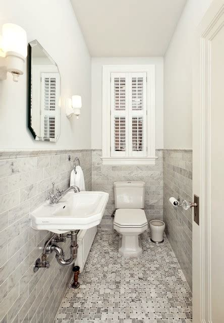 Small Powder Bath   Victorian   Powder Room   dc metro   by Four Brothers LLC