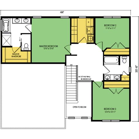 wausau homes floor plans redwood floor plan 3 beds 2 5 baths 2090 sq ft wausau