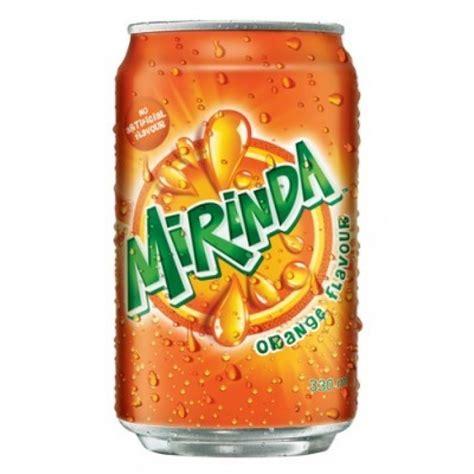 Mirinda Tin   Orange Flavor, 250 ml