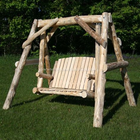 how to fix a swing 17 ideas about rustic log furniture on pinterest unique