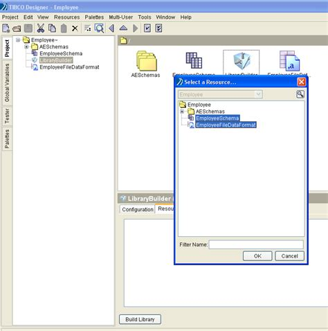 online tutorial builder mindmajix tibco businessworks library builder
