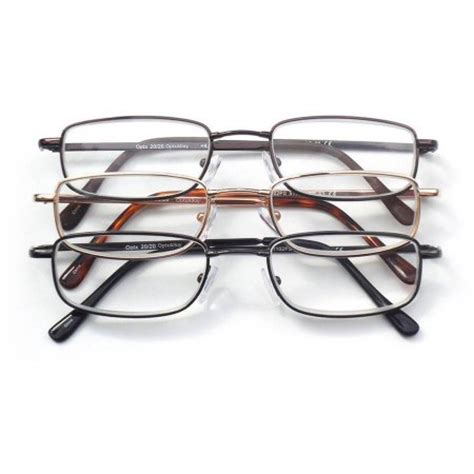 optx 2020 3 pair valupac alloy reading glasses 4 00