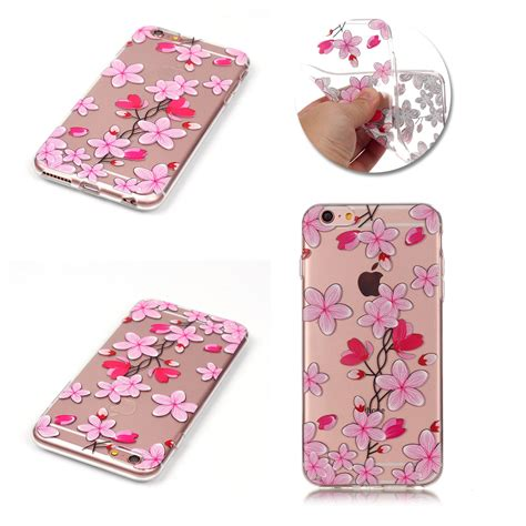 Silicon Iphone 66plus Tpu Clear Soft pattern clear soft silicone tpu rubber gel back cover